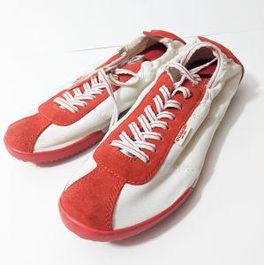 Coach weslee shoes 7 & 7.5 sneakers orange